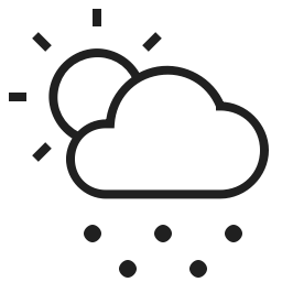 Cloudy Hail Icon Svg Png Orion Icon Library