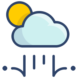 Cloudy Hailstorm Icon Svg Png Orion Icon Library