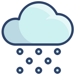 Heavy Snow Icon Svg Png Orion Icon Library