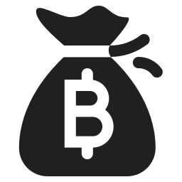 Money Bag Bitcoin Icon Svg Png Orion Icon Library
