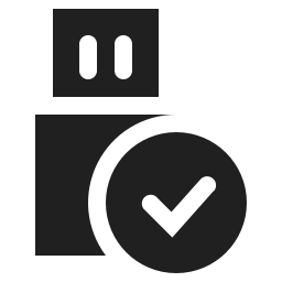 Usb Connected Icon Svg Png Orion Icon Library