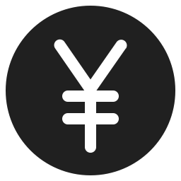 Yen Sign Icon Svg Png Orion Icon Library